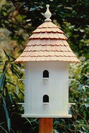 lazy hill birdhouse dovecote adaptation crafted in maine