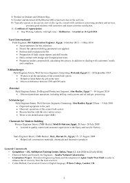 Resume For Factory Job by Halliburton Field Engineer Sample Resume 14 3 Field Engineer