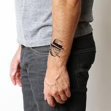 winston churchill temporary tattoo set of 2