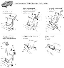 series ii iia iii seat belts rovers north classic land