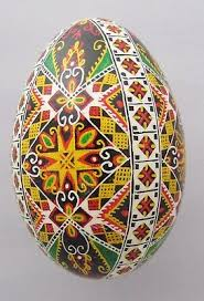 ukrainian easter egg goose pysanka real ukrainian easter egg pysanka geometric