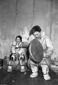 canadian inuit eking out a living in frozen wastelands daily