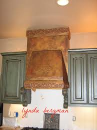 Crackle Kitchen Cabinets Faux Painted Powder Room In A North Scottsdale Home Painting