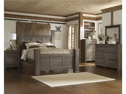 Signature Design By Ashley Juararo Poster Bedroom Group Queen - Ashley furniture dayton ohio