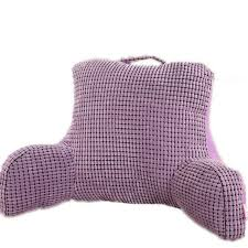 read in bed pillow bedrest pillow to watch tv and read in bed cotton seat back cushion