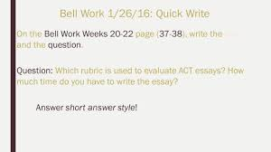 activities bell work bell work quick write activity
