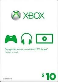 xbox live gift cards free 10 xbox live gift card w gin prepaid cards