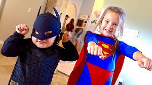 finn and jake halloween costume toddler batman vs supergirl youtube