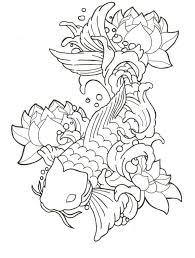 koi fish coloring chuckbutt