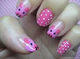 real asian beauty cute little pigs nail art