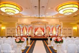 indian wedding decorators in nj hanover nj indian wedding by events capture maharani weddings