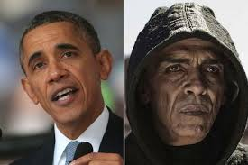 Obama Has Vowed To Cut Of God Barack Obama Look A Like Satan Cut From Mirror