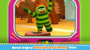 amazon yo gabba gabba party tummy appstore android