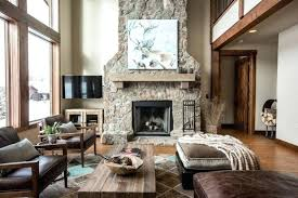 rustic livingroom modern rustic living room decorating ideas psgraphicdesign co