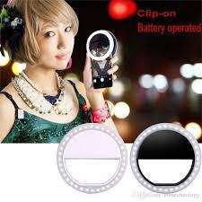 best led ring light 36 led cellphone selfie ring light portable diva ring light for