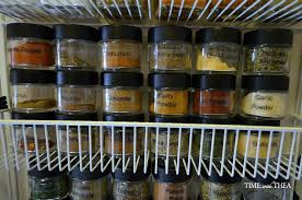 Best Storage Containers For Pantry - best spice and herb storage tips time with thea