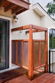 How To Build An Outdoor Shower Enclosure - outdoor showers google search outdoor showers pinterest