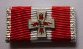 Baden Wurttemberg Flag Bandschnalle Ordensspange Fw Ehrenzeichen Silber Baden