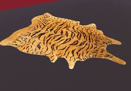 second life marketplace tiger skin carpet