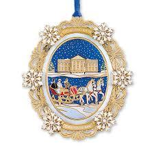 2004 white house ornament a family s sleigh ride