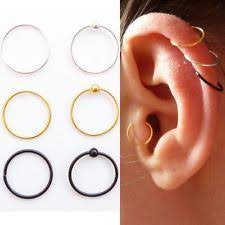 hoop cartilage piercing cartilage hoop jewellery watches ebay