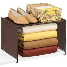 closet shelf organizer in shelf dividers