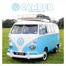volkswagen camper van official vw camper vans 2016 square wall calendar amazon co uk