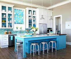 turquoise kitchen island turquoise kitchen islands view in gallery blue and kitchen with