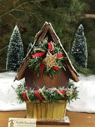 Gift Craft Home Decor by Christmas Birdhouse Diy Fairyhouse Homedecor Holiday Gift