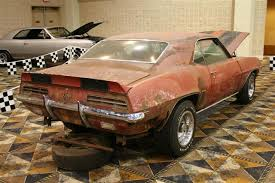 1969 camaro rally wheels 1969 camaro rs z28 barn find information on collecting cars