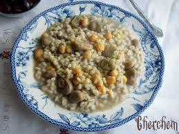 recette de cuisine plat recette cherchem plat yennayer le cuisine de samar