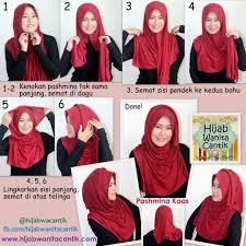 tutorial jilbab ala ivan gunawan 80 ide tutorial hijab pashmina tanpa jarum terlengkap tutorial