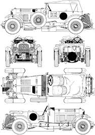 1930 bentley 4 1 2 litre blower blueprint would make an awesome