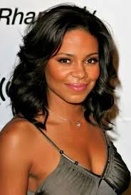 chin length hairstyles for ethnic hair sanaa lathan with long layers time for a hair cut potential