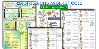 english teaching worksheets expressions