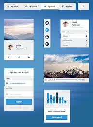 ui kits free download free psd and html