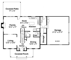 colonial style house plan 4 beds 2 50 baths 2305 sq ft plan 124 443 colonial style house plan 4 beds 2 50 baths 2305 sq ft plan 124