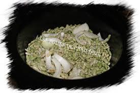 cuisiner les flageolets flageolets à la mijoteuse les folies de christalie ou quand la