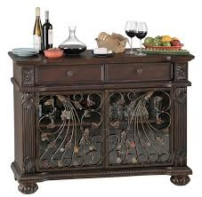 wine rack console table 000 fontaine howard miller wine rack and bar console furniture