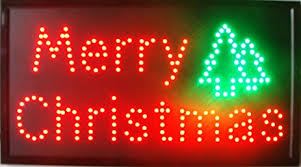 led merry christmas light sign amazon com chenxi merry chirstmas happy new year led open sign