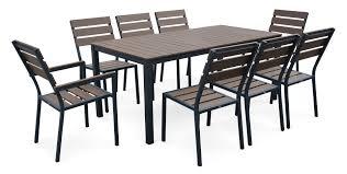 table de jardin haut de gamme emejing table de jardin bois composite ideas amazing house
