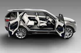 land rover gray land rover discovery vision concept first look