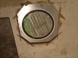 Vinyl Flooring Subfloor Tips And Tricks For Installing Vinyl Tile Around Drain