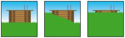 cabine de plage bois piscines hors sol à prix discount en acier ou bois