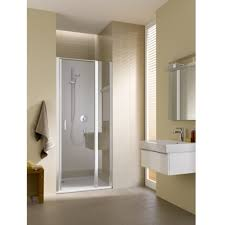 kermi cada xs hinged door with fixed panel white baker and soars
