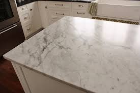 white carrera marble kitchen countertop marble and lookalike