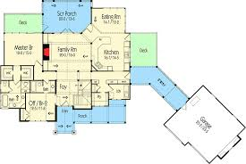 House Plans With Breezeway Rugged Mountain Plan With Great Outdoor Spaces 26710gg