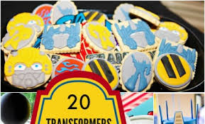 transformer party favors 20 transformers birthday party ideas we spaceships and