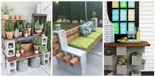 genius ways people are using cinder blocks in their backyards