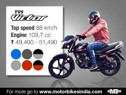 tvs motocross bikes the victor bike is a successful model of tvs motors the indian